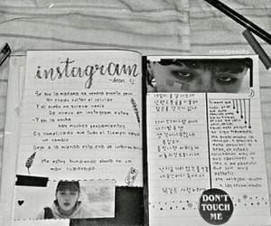 dean, journal, and kpop image