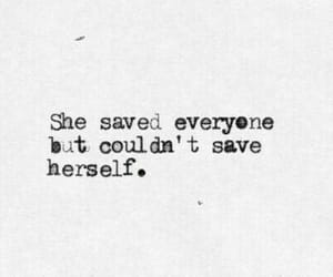 quotes, sad, and save image
