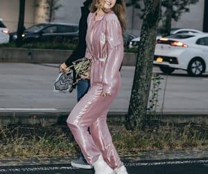 fashion, model, and nyc image