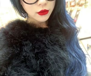 asian, fashion, and fluffy image