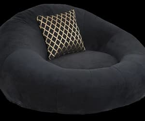 chair, png, and beanbag image