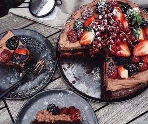 food, strawberry, and taste image