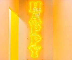 yellow, happy, and light image