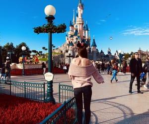 castle, colour, and disney image