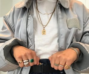 fashion, clothes, and rings image