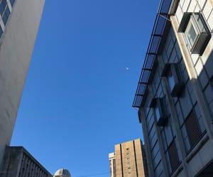 architecture, Birmingham, and blue image