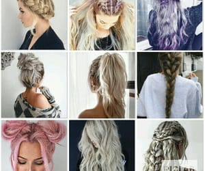braid, natural, and hairstyle image