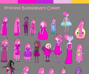 cartoons, outfits, and pink image