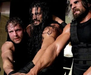 the shield, dean ambrose, and seth rollins image
