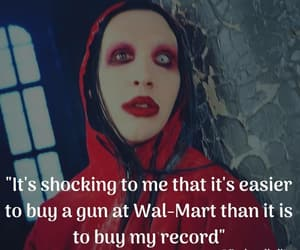 album, Marilyn Manson, and MM image