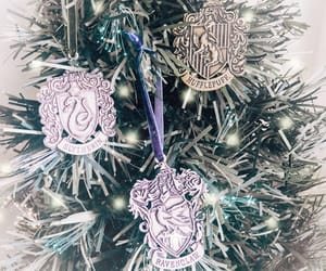christmas, hogwarts, and ravenclaw image