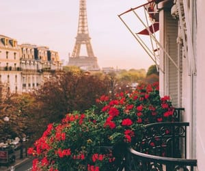 architecture, eiffel, and eiffel tower image