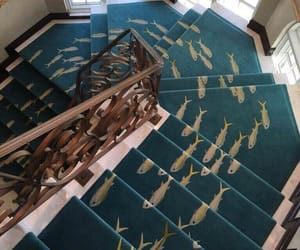 fish and stairs image
