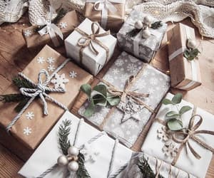 christmas, gifts, and holiday image