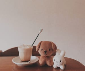aesthetic, coffee, and brown image