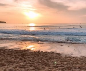 bali, beach, and sky image