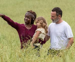 the walking dead, twd, and grimes family image