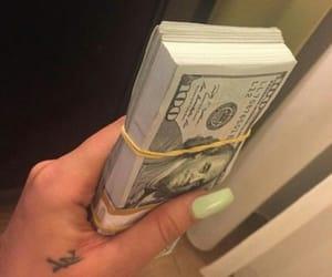 money, nails, and luxury image
