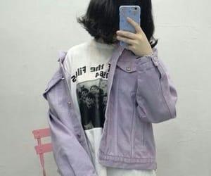 girl and purple image
