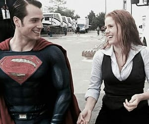 Amy Adams, superman, and Henry Cavill image