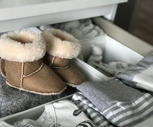 baby, clothes, and shoes image