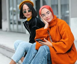 hijab, outfits, and stylé image
