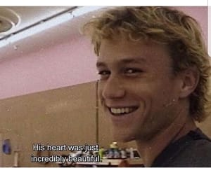 heath ledger, 90s, and boy image