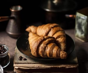 croissant, dessert, and food image