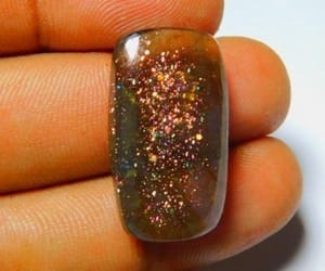 amber, glitter, and sunstone image