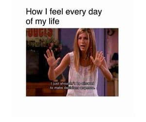 advice, moments, and rachel green image