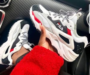 Fila, fashion, and shoes image