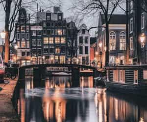 city, architecture, and bridge image
