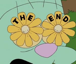 flowers, simpson, and the end image