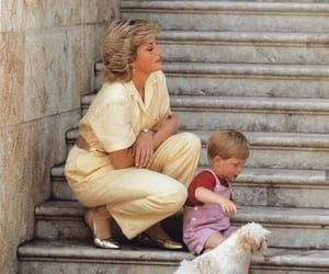 diana spencer, lady diana, and prince harry image