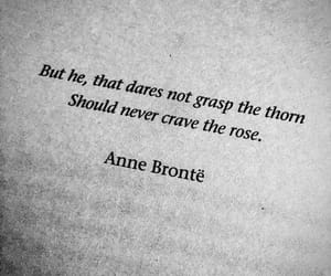 rose, thorns, and anne bronte image