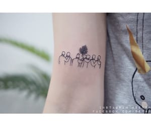 tattoo, you never walk alone, and bts image