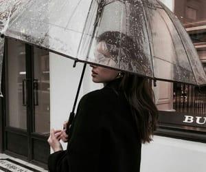 girl, style, and rain image