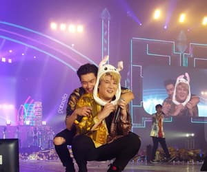 babies, shindong, and super show image