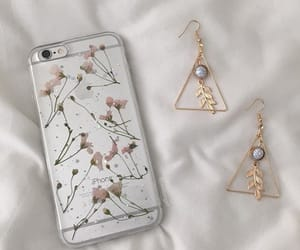 aesthetic, cases, and earrings image