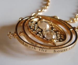 harry potter, time-turner, and hermione granger image