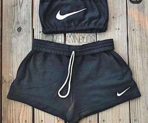 adidas, bandeau, and black image