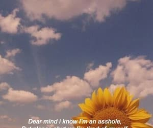 quotes, sky, and sunflower image