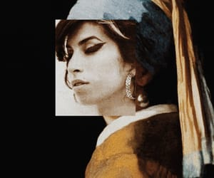 Amy Winehouse, art, and Collage image