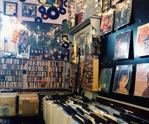 record store and records image