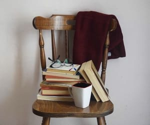 books, book aesthetic, and coffee image