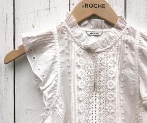 embroidery, frills, and lace blouse image