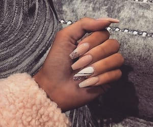 nails, beauty, and nails goals image