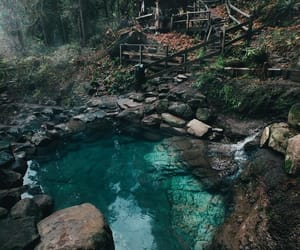 travel, nature, and water image