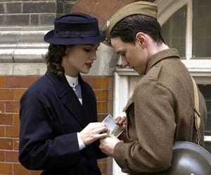 keira knightley, atonement, and james mcavoy image
