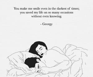couple, quotes, and love image